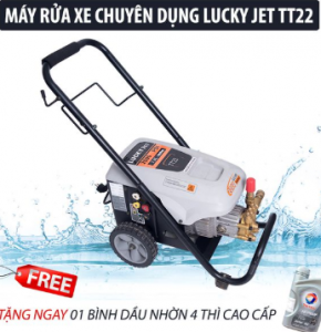 Máy rửa xe cao áp Lucky Jet TT22