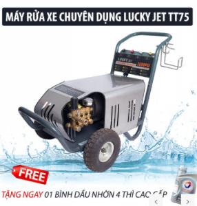 Máy rửa xe cao áp Lucky Jet TT30 ( Vỏ Inox)