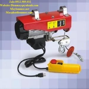 Tời cáp điện 1 pha 220V HGS B800