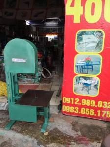 Máy cưa lọng, máy xẻ gỗ bánh đà 40 có mô tơ sản xuất trên quy mô lớn