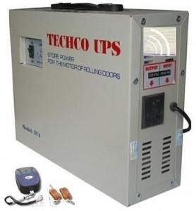 Bộ lưu điện cho cửa cuốn tích hợp điều khiển TECHCO 1500W