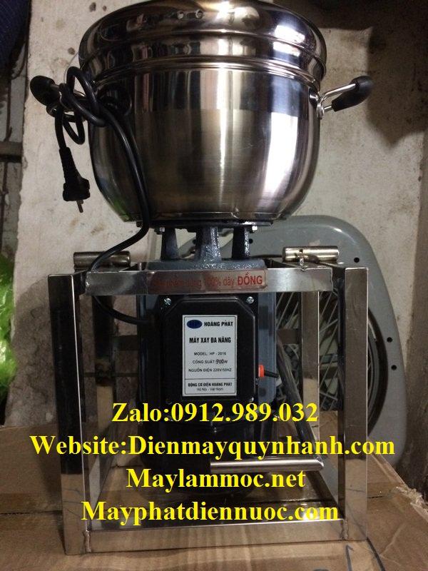 Máy xay thịt làm giò inox 3L1000W