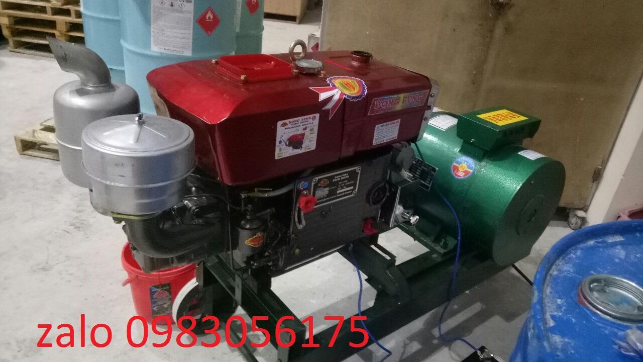 máy phát điện chạy dầu tua chậm 30kw